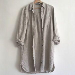 Jenni Kayne Linen Shirt Dress S